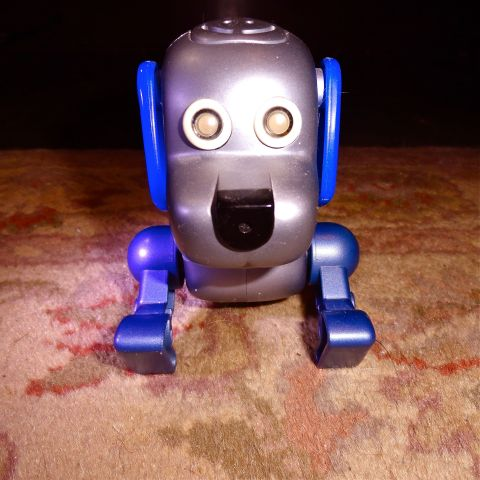 My mechanical dog who apparently walked under my bed. one day.