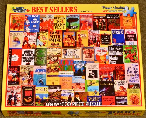 A 1000 piece BEST SELLER Jigsaw Puzzle!