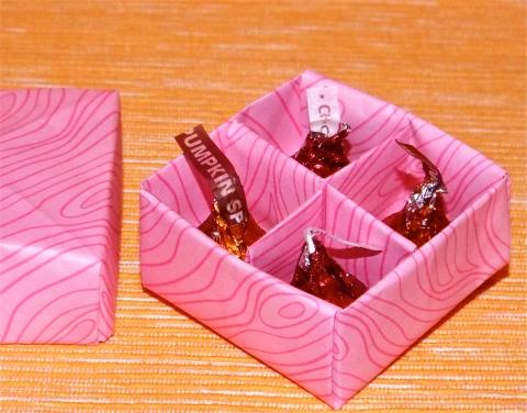 VOILA! A MINI-CANDY BOX!