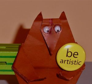 BE ARTISTIC