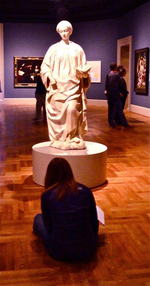ART BEHOLDING ARTIST